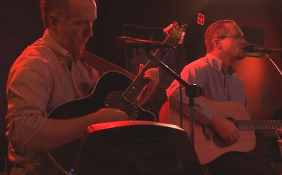 Acoustic duo elixer dave rybaczewski and walter guy for Fat fish blue toledo