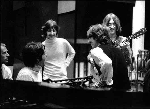 Track On The Album That Fits Into A Very Unique Category Song Was Written Instantaneously In Studio Day It Recorded Beatles Had
