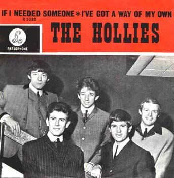 Resultado de imagem para the hollies - if i needed someone
