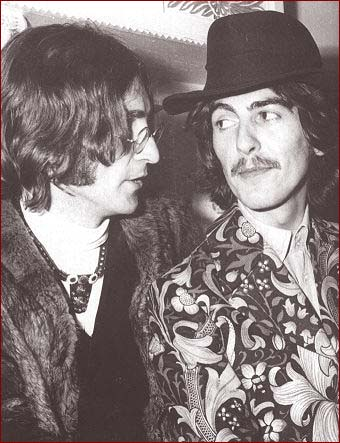 I Gave George A Couple Of Lines About Forks And Knives Eating Bacon Stated John Lennon