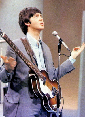 McCartney Does His Usual Impeccable Job Keeping Pitch On Harmonies As Well Appropriate Downbeat Bass Work Including The Above Mentioned