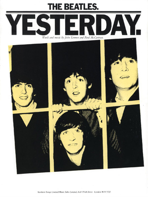 beatles yesterday текст:
